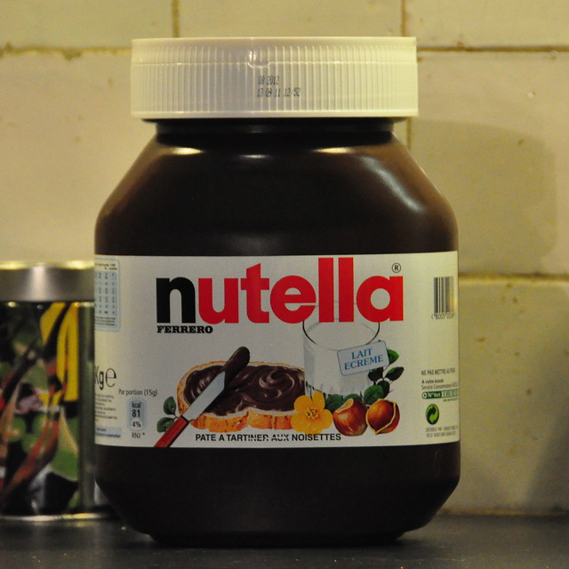 5 kg of nutella for the real nutella buffs by michiel2005 flickr photo sharing. Black Bedroom Furniture Sets. Home Design Ideas