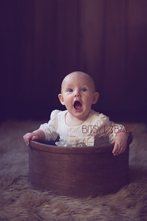 baby photo surprised | by Bitsy Baby Photography [Rita]