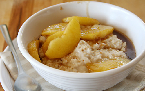 oatmeal maple sauteed apples 5 | by crumblycookie