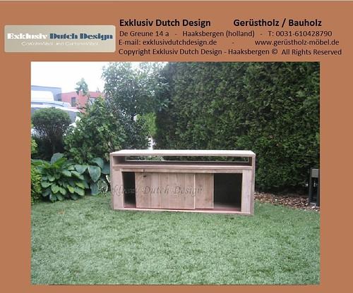bauholz tv m bel board4. Black Bedroom Furniture Sets. Home Design Ideas