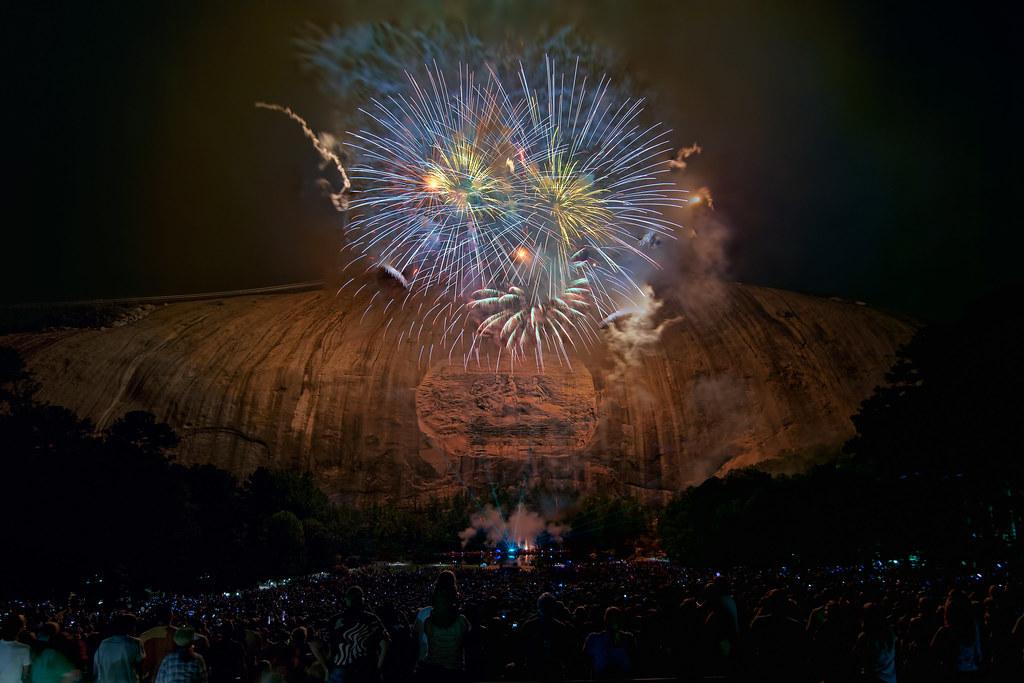 stone mountain fireworks dsc 7636c stone mountain georg flickr