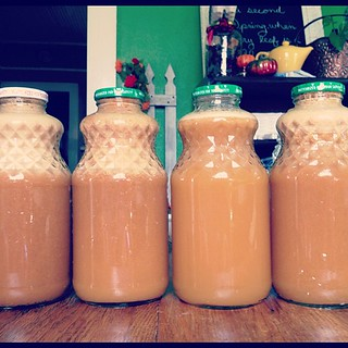 Homemade apple juice | by CrystalECollins