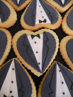 Wedding Cookies-Tux | by Cake Girl by Hyeyoung Kim
