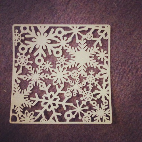 Snowflake lace cut on Robo | by mmmbisto