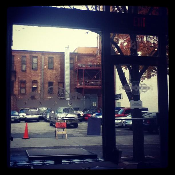 looking out the front door | Lucky Restaurant; Roanoke, Virg… | Flickr