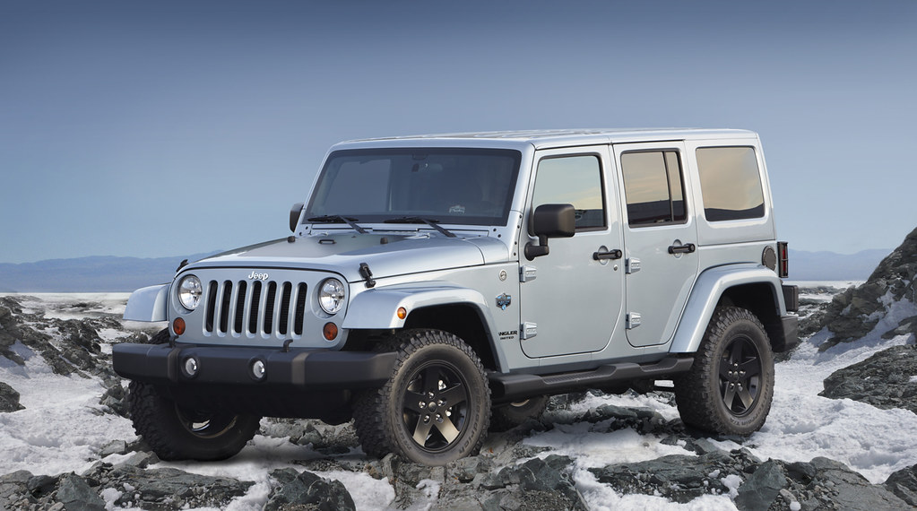 2012 Jeep Wrangler Unlimited Arctic Nice Shot Of The New 2