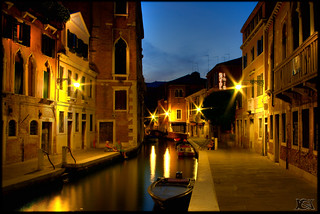 Venise HDR Waterway by night | by Broogland - Nicolas Guédon
