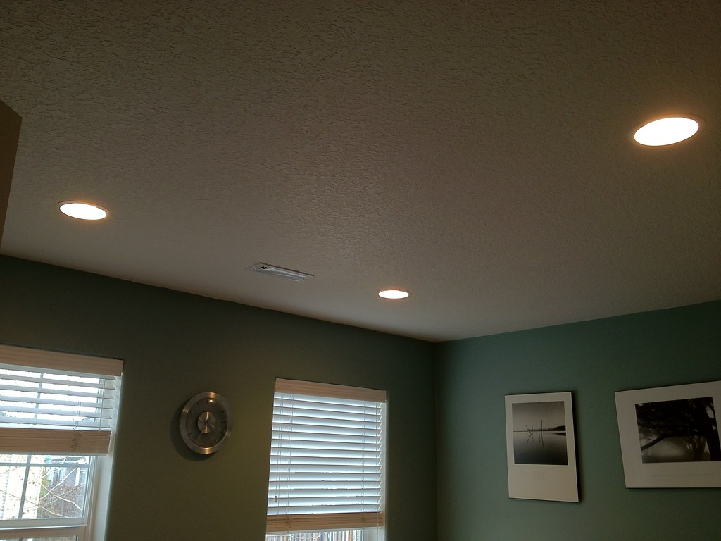Recessed Lighting Had An Electrician Out Today Doing