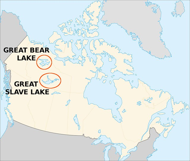 Canada Great Bear And Great Slave Lake Jeopardy