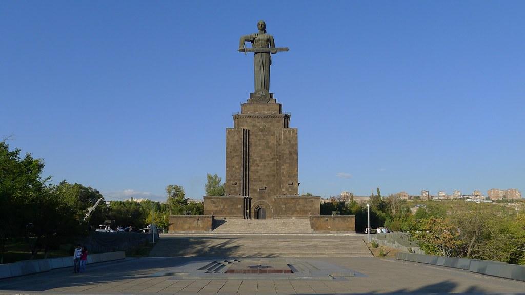 Mayr Hayastan Statue, ...