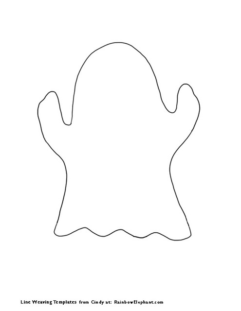 Geeky image within printable ghost