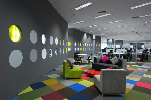 Creative office design by m moser associates explore m for Creative office decor