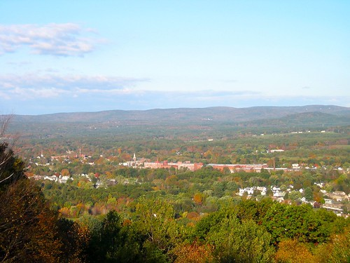 View from Mount Tom, Easthampton, Autumn | by pecooper98362