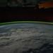 Aurora Australis Over Indian Ocean (NASA, International Space Station, 09/18/11)