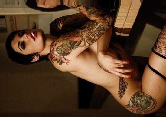 Sexy Full Body Tattoo