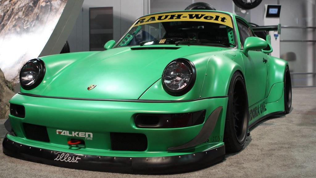 Rwb Rauh Welt 1990 Porsche 911 C4 Illest An Apparel