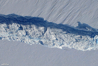 Birth of an Iceberg, Pine Island Glacier, Antarctica | by NASA Earth Observatory