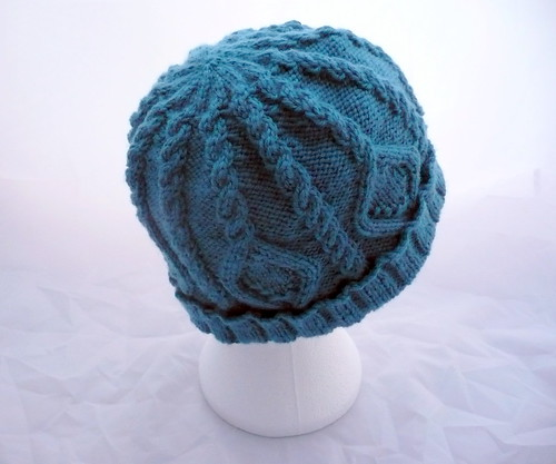 Handyman Hat in Teal | by Stitched Together