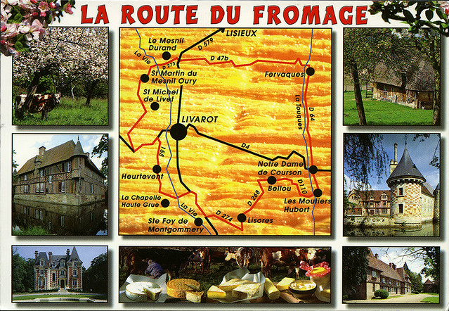 postcard la route du fromage flickr photo sharing. Black Bedroom Furniture Sets. Home Design Ideas