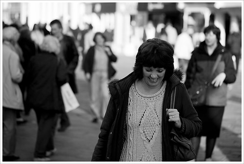 Day 313 - 09-11-2011 - Woman Laughing | by neonbubble