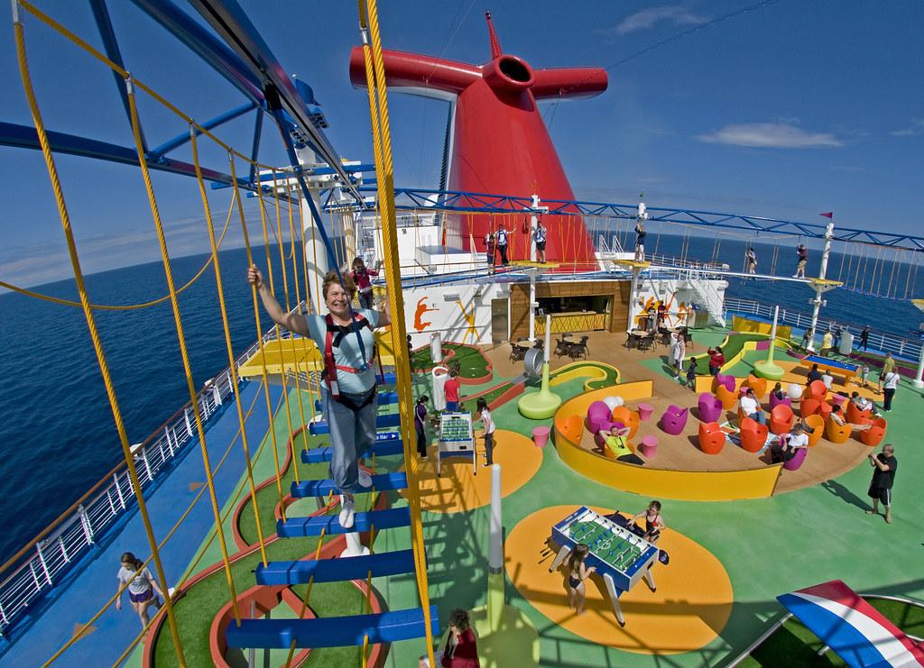 Carnival Sunshine Kids Onboard Activities