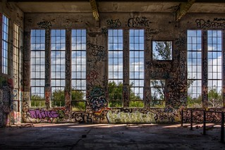 Inside abandoned power station | by Tristan Jud