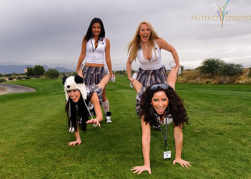 Girls Of Playboy Golf Playing Around Playboy Playmates