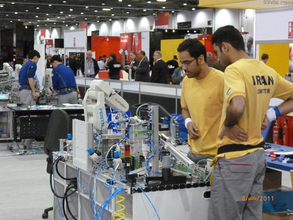 Iran >> iran mechatronics team   WorldSkills   Flickr