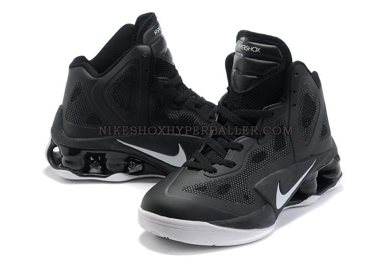 ... Nike Air Shox Hyperballer black white (5)  7856faae2