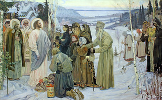 """Holy Russia,"" by Mikhail Nesterov (1863-1942) 