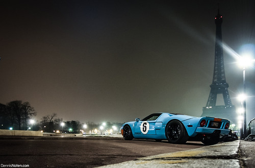 Ford GT Heritage Edition | Eiffel tower. | by Denniske