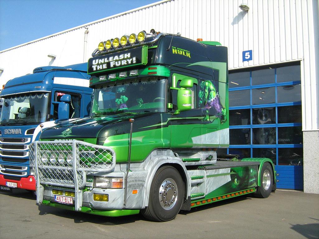 Scania T164 Scaniaman0 0 Flickr