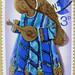 Christmas stamp xmas GB 3p UK navidad sello noel timbre angel 3p postage Great Britain United Kingdom postage stamps poste-timbres Grande-Bretagne sellos selos GB England Briefmarken Grossbritannien England porto franco francobolli postzegel GB UK Gran Br