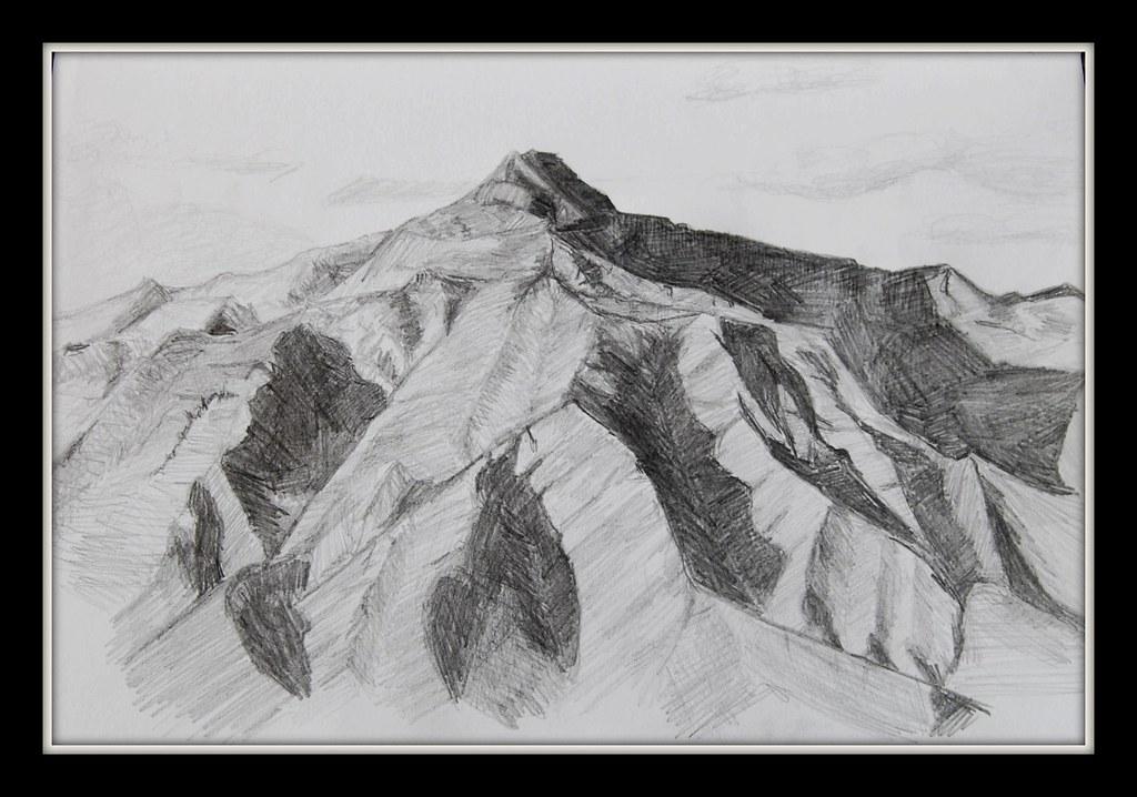 Pencil sketch by laurainspain