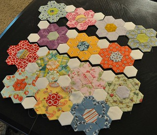 hexagon progress | by vickivictoria