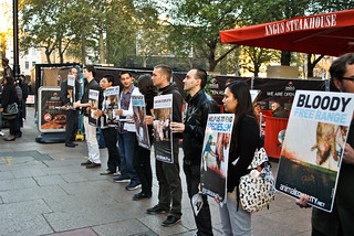London- demonstration promoting veganism - 15/10/2011 | by Igualdad Animal | Animal Equality