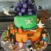 Halloween Birthday Cake..