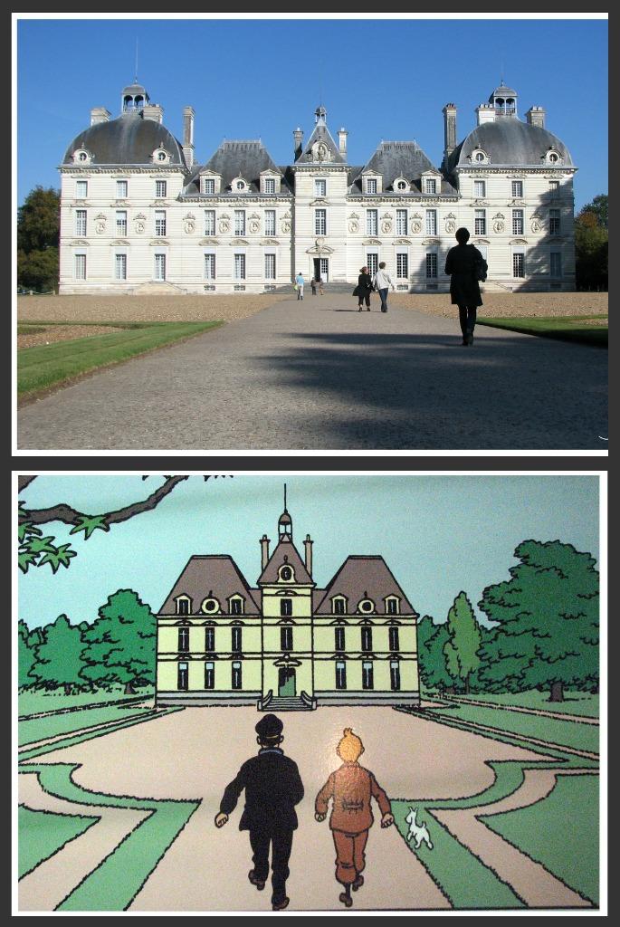 Cheverny moulinsart herg s 39 est inspir du chateau de che flickr - Le chateau de moulinsart ...
