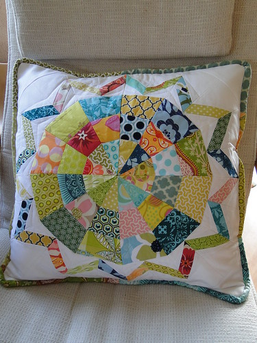 Pillow talk {swap} received! | by lindakl