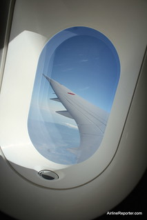 787 Wing From Lavatory | by AirlineReporter.com