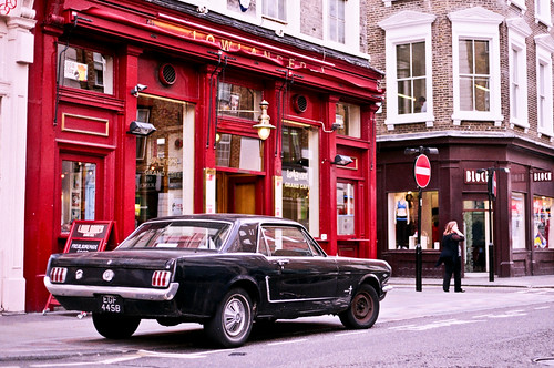 Mustang in Convent Garden | by G.R.Bispo