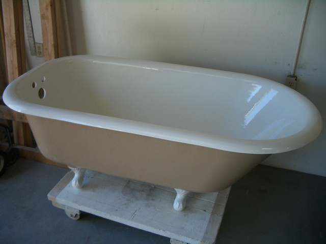 Clawfoot Tub Refinished In Two Colors Flickr Photo Sharing