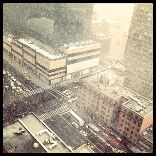 #NYC snow!! | by John de Guzman