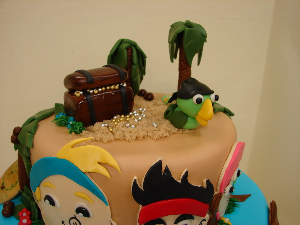 Jake And The Neverland Pirates Birthday Cake Jake And The Flickr