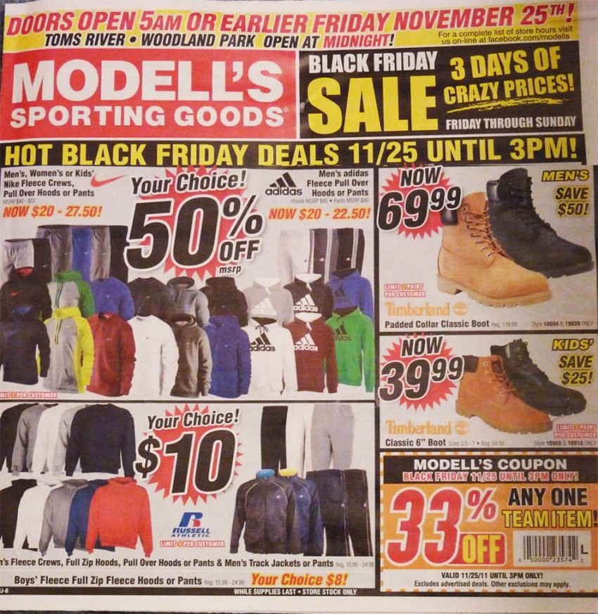 Modell's Sporting Goods is America's oldest, family-owned and operated retailer of sporting goods, athletic footwear, active apparel and more. Shop our sporting goods online today! Modell's Sporting Goods.
