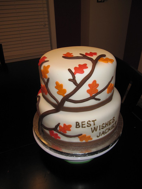 Fall Bridal Shower Cake | Flickr - Photo Sharing!