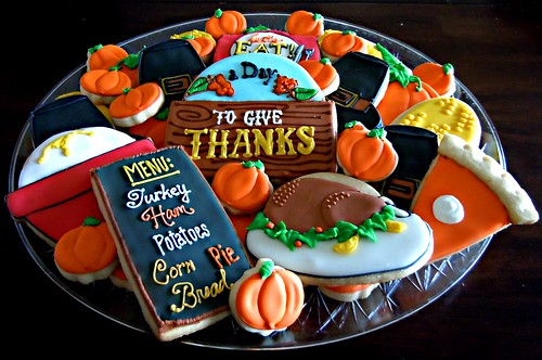 Thanksgiving Tray | by Flying Pig Party Productions