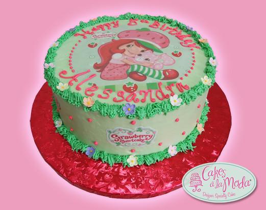 Strawberry Shortcake Birthday Cake | Strawberry Shortcake Bu ...