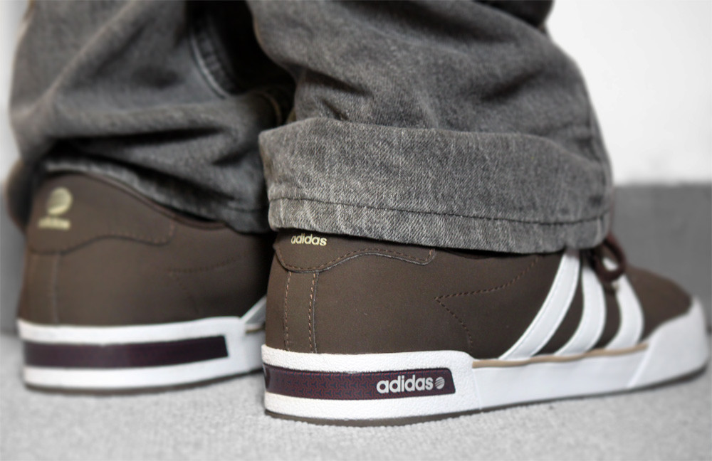adidas neo se daily vulc brown