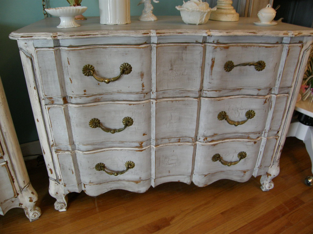 French Distressed Furniture. Vintagechicfurniture French Gray Distressed  Dresser Shabby Chic | By Furniture